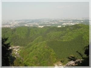 高尾山 稲荷山展望台